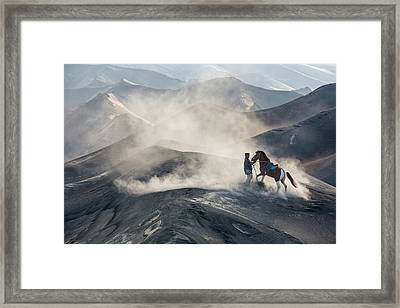 The Horseman Framed Print