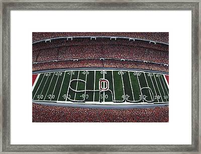 The Horseshoe Framed Print by Meghan Coyle