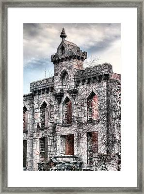 The Hospital Framed Print by JC Findley