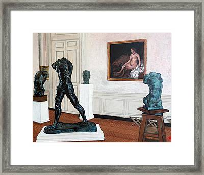 The Hotel Biron Framed Print by Tom Roderick