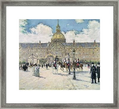 The Hotel Des Invalides Framed Print
