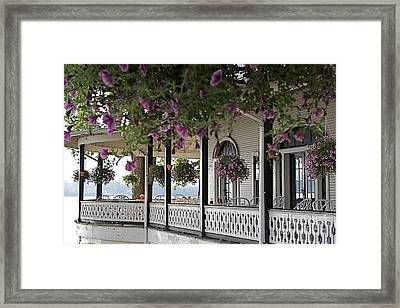 The Hotel Framed Print