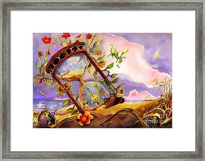 The Hourglass Framed Print