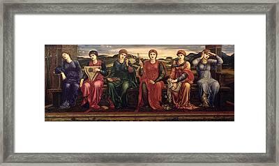 The Hours, 1870-82 Framed Print by Sir Edward Coley Burne-Jones