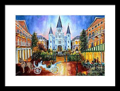 St. Louis Cathedral Framed Prints