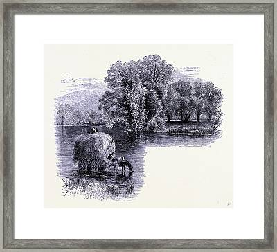 The Housatonic River At Stockbridge United States Of America Framed Print by American School