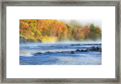 The Housatonic River Framed Print by Bill Wakeley