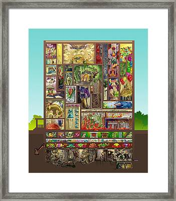 The House Framed Print by Augustinas Raginskis