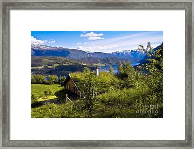 The House Becomes A Landscape Framed Print by Heiko Koehrer-Wagner