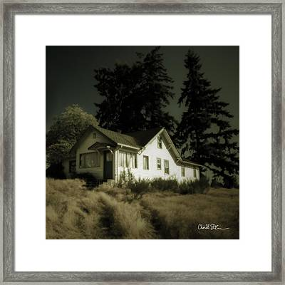The House Framed Print by Charlie Duncan