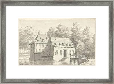 The House Druten In Gelderland The Netherlands Framed Print