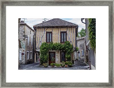 The House In The Middle Of The Street Framed Print