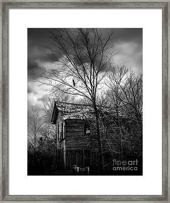 The House Framed Print