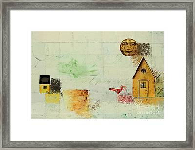 The House Next Door - C04a Framed Print