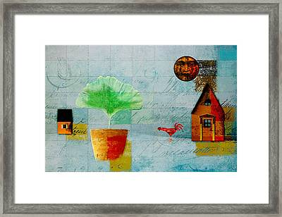 The House Next Door - J137128152-f33w Framed Print