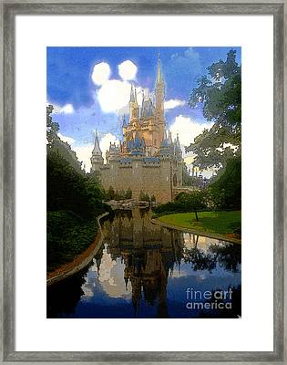 The House Of Cinderella Framed Print by David Lee Thompson