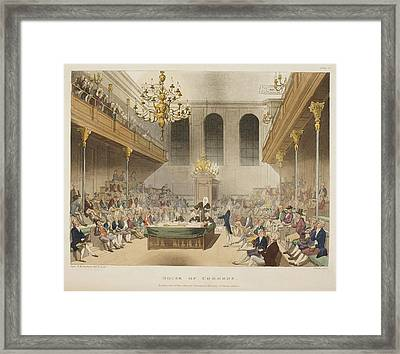 The House Of Commons Framed Print