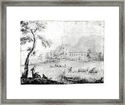 The House Of Marco Ricci Framed Print by Marco Ricci
