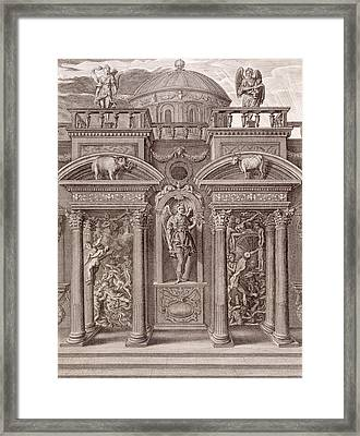 The House Of Sleep Framed Print by Bernard Picart