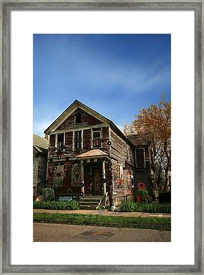 The House Of Soul At The Heidelberg Project - Detroit Michigan Framed Print by Gordon Dean II