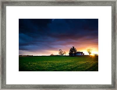 The House Of The Rising Sun Framed Print by Eti Reid