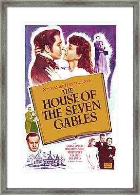 The House Of The Seven Gables, Us Framed Print