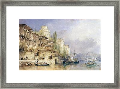 The House On The Bosphorus Framed Print