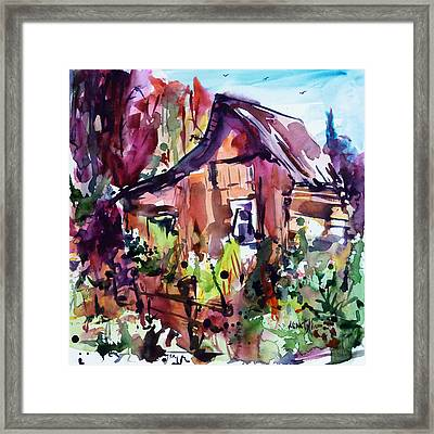 The House On The Edge Of The Forest Framed Print