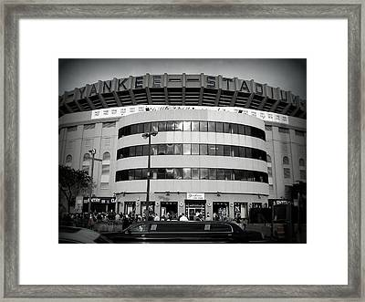 Framed Print featuring the photograph The House That Ruth Built B/w by Aurelio Zucco