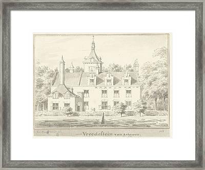 The House Vredestein At Ravenswaaij, Gelderland Framed Print