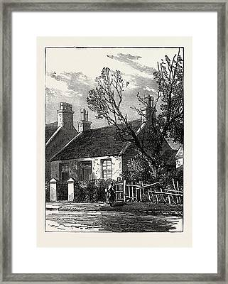 The House Where Livingstone Dwelt In His Youth Framed Print