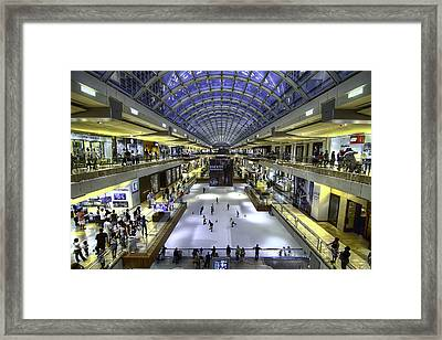 The Houston Galleria Framed Print