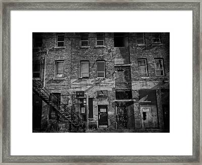 The Hub Three Framed Print by Empty Wall