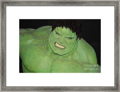 The Hulk Framed Print