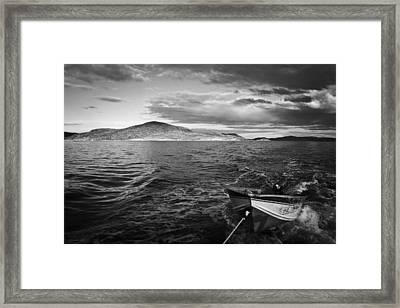 Framed Print featuring the photograph The Human Element by Ben Shields