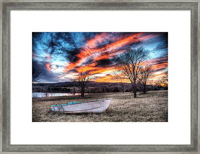 The Humble Boat Framed Print by William Fields