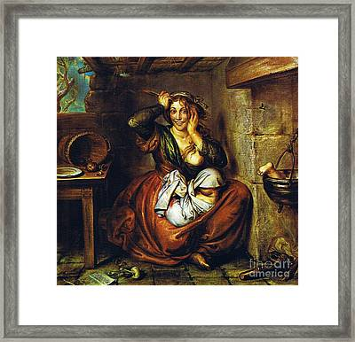 The Hunger - The Madness - The Crime Framed Print by Pg Reproductions