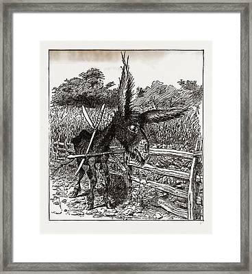 The Hungry Democracy—the Greatest Faster On Record Framed Print by Litz Collection