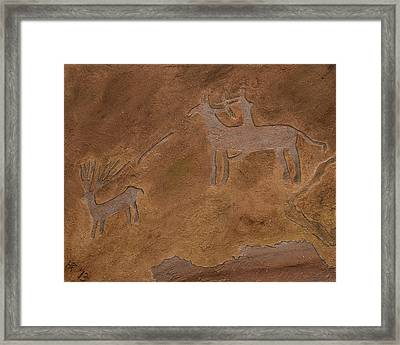 The Hunt Framed Print by Katie Fitzgerald