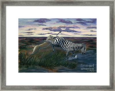 The Hunt Framed Print