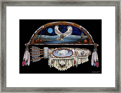 The Hunter Framed Print by Glenn Holbrook