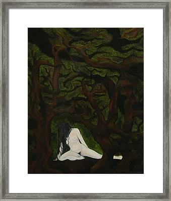 The Hunter Is Gone Framed Print