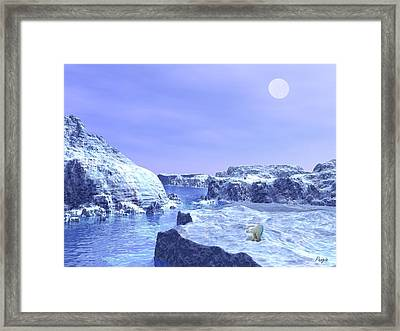 The Hunter Framed Print by John Pangia