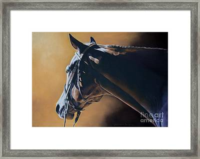 The Hunter Framed Print by Joni Beinborn