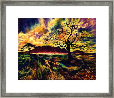 The Hunter Framed Print by Kd Neeley