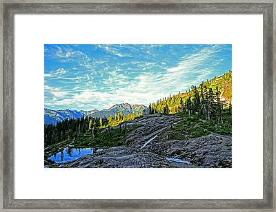 Framed Print featuring the photograph The Hut. by Eti Reid
