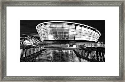 The Hydro Mono Framed Print by John Farnan