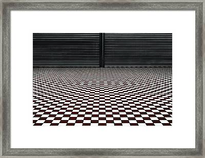 The Hypnotic Floor Framed Print