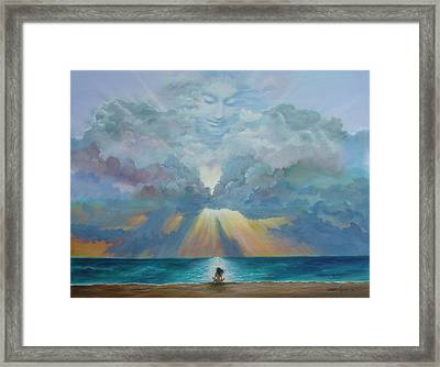 The I Am Presence Framed Print by JoAnne Castelli-Castor