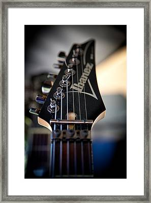 The Ibanez Guitar Framed Print by David Patterson